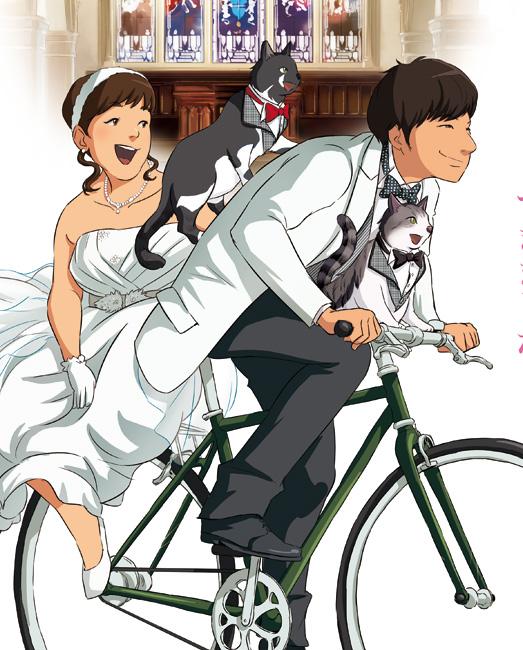 自転車で教会まで!
